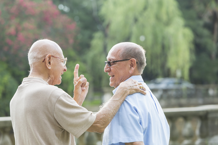 Health Issues for Senior Men - hearts at home senior care