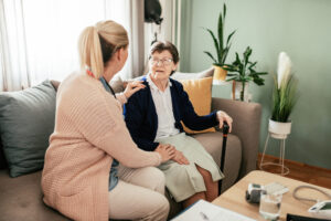: Long-term health conditions can be managed effectively with in-home care.