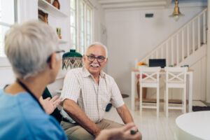 An in-home care consultation can help determine the ideal senior care solutions for loved ones.